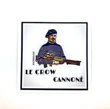 Load image into Gallery viewer, Le Crow Cannon sticker