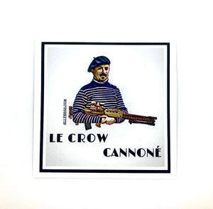 Le Crow Cannon sticker