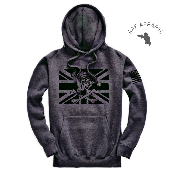 Ally Fighting Pirate Hoodie/Charcoal Grey