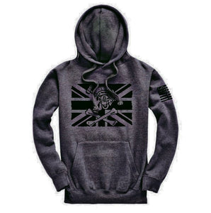 Fighting Pirate Hoodie/Dark Charcoal Grey AAF APPAREL