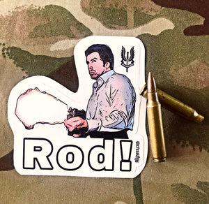 Ally Pete Skellen slottin Rod! Sticker