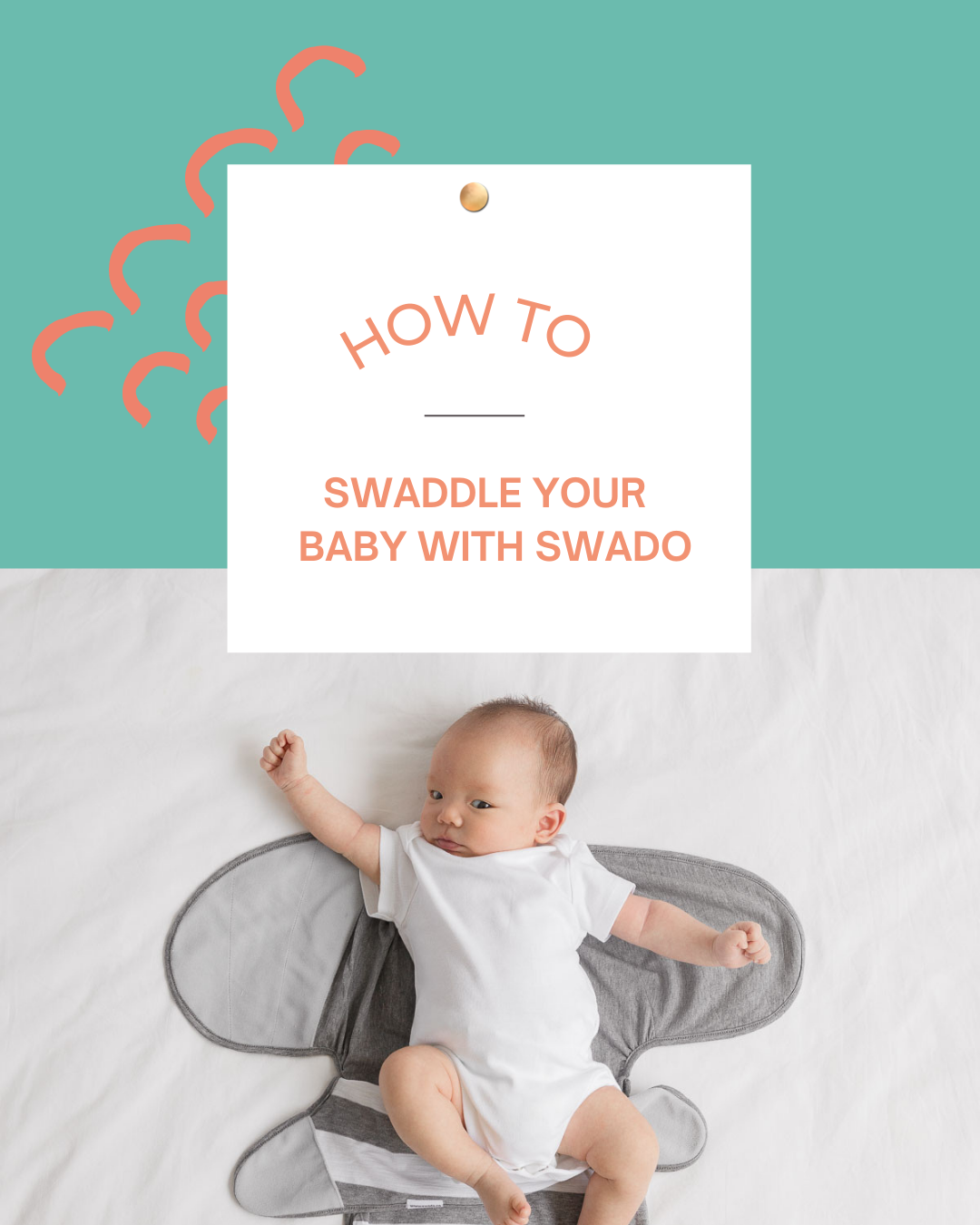 How to Swaddle A Baby In 4 Easy Steps