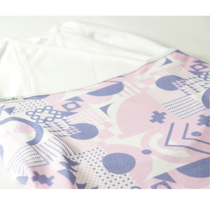 Geometric Print, Organic Cotton