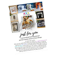 Load image into Gallery viewer, Personalised Hand Painted Pet Portrait Wine Glass