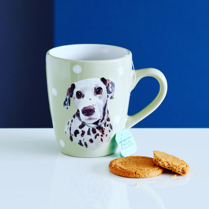 Personalised Hand Painted Pet Portrait Mug