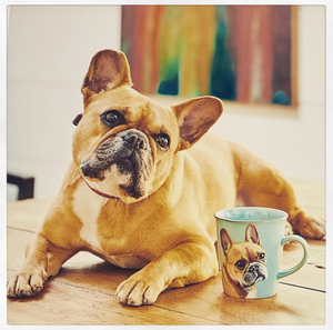 Luxury Personalised Hand Painted Pet Portrait Mug
