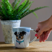 Load image into Gallery viewer, Luxury Personalised Hand Painted Pet Portrait Mug