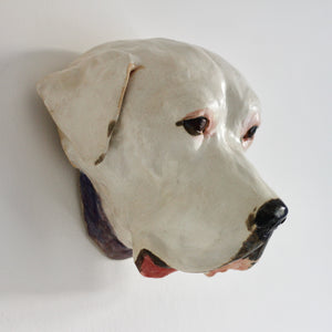 Pet Head Wall Mounted Sculpture
