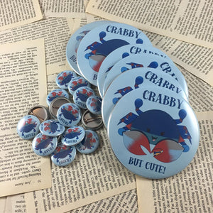 Maryland Blue Crab Button