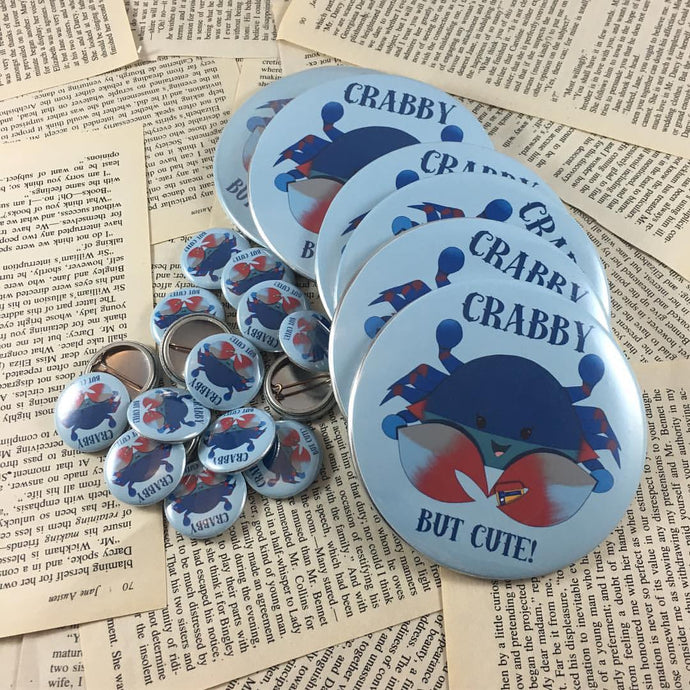Maryland Blue Crab Pocket Mirror