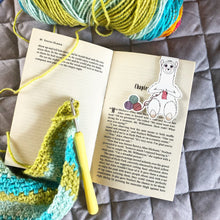 Load image into Gallery viewer, Crocheting Llama