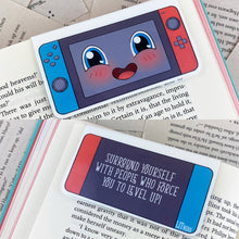 Load image into Gallery viewer, Cute Gamer Bookmark