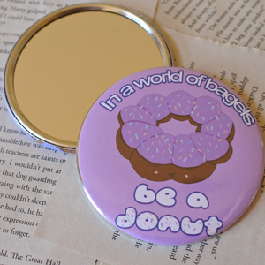Donut Pocket Mirror