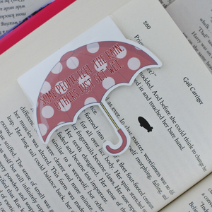 Umbrella Magnetic Bookmark