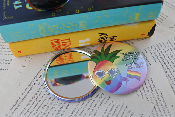 Pride-Apple Pocket Mirror