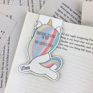 Unicorn Bookmark