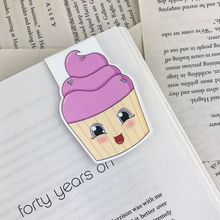 Load image into Gallery viewer, Cupcake Magnetic Bookmark