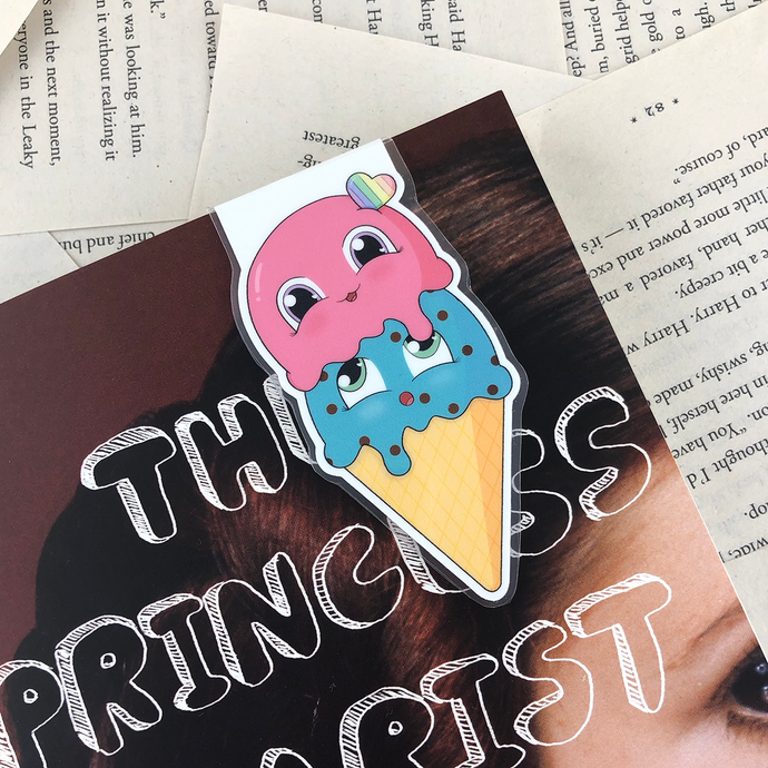 Ice Cream Magnetic Bookmark