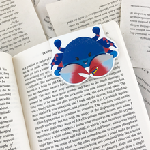 Load image into Gallery viewer, Maryland Blue Crab Magnetic Bookmark