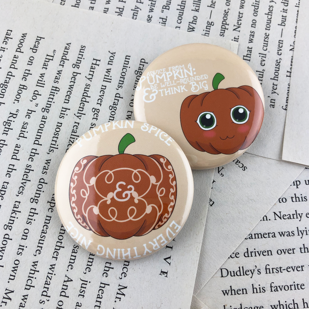 Pumpkin Buttons