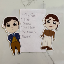 Load image into Gallery viewer, Pride & Prejudice Fridge Magnets