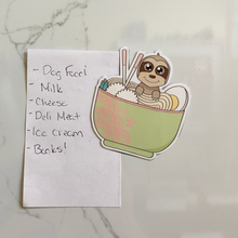 Load image into Gallery viewer, Ramen Cutie Fridge Magnet