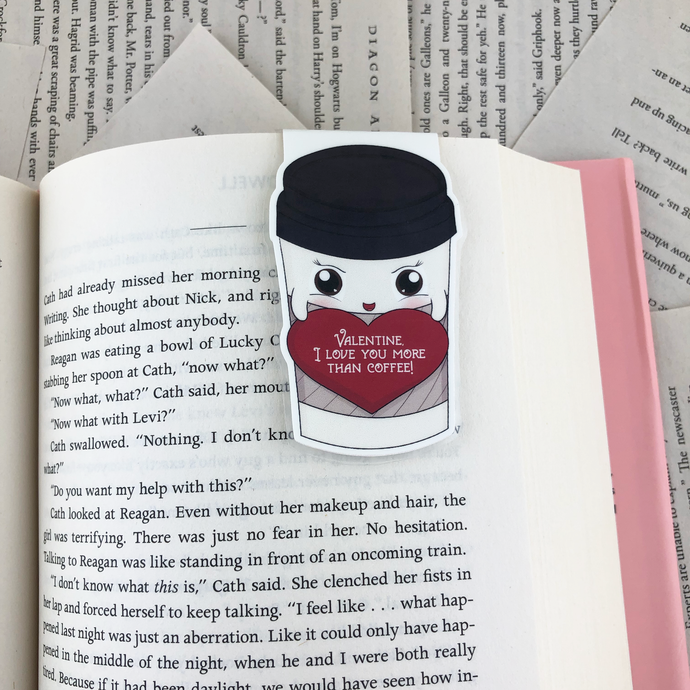 Valentine Coffee Bookmark