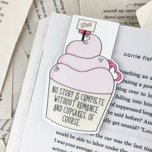 Load image into Gallery viewer, Wedding Cupcake Magnetic Bookmark