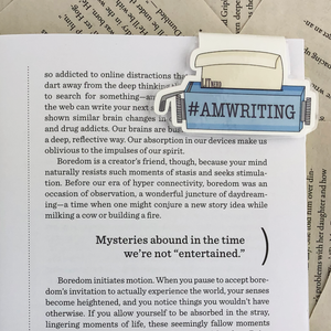 Writer Magnetic Bookmarks
