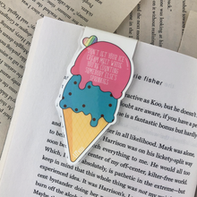 Load image into Gallery viewer, Ice Cream Magnetic Bookmark