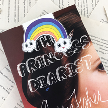 Load image into Gallery viewer, Sassy Rainbow Magnetic Bookmark