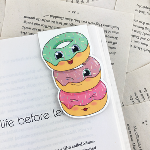 Donuts Magnetic Bookmark