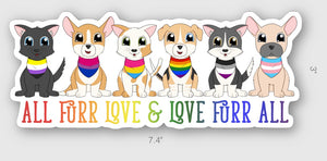 Pride Pets Sticker