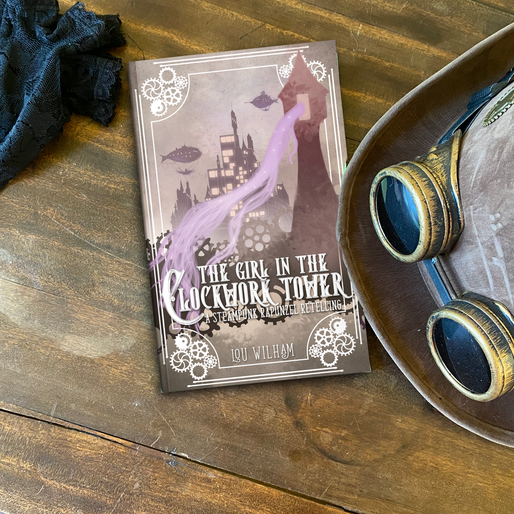 SIGNED copy of The Girl in the Clockwork Tower (paperback)