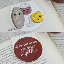 Load image into Gallery viewer, Wine Magnetic Bookmarks