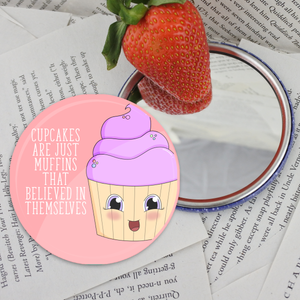 Cupcake Pocket Mirror