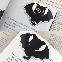 Load image into Gallery viewer, Halloween Cat Bookmarks