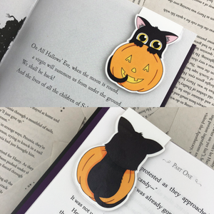 Halloween Cat Bookmarks