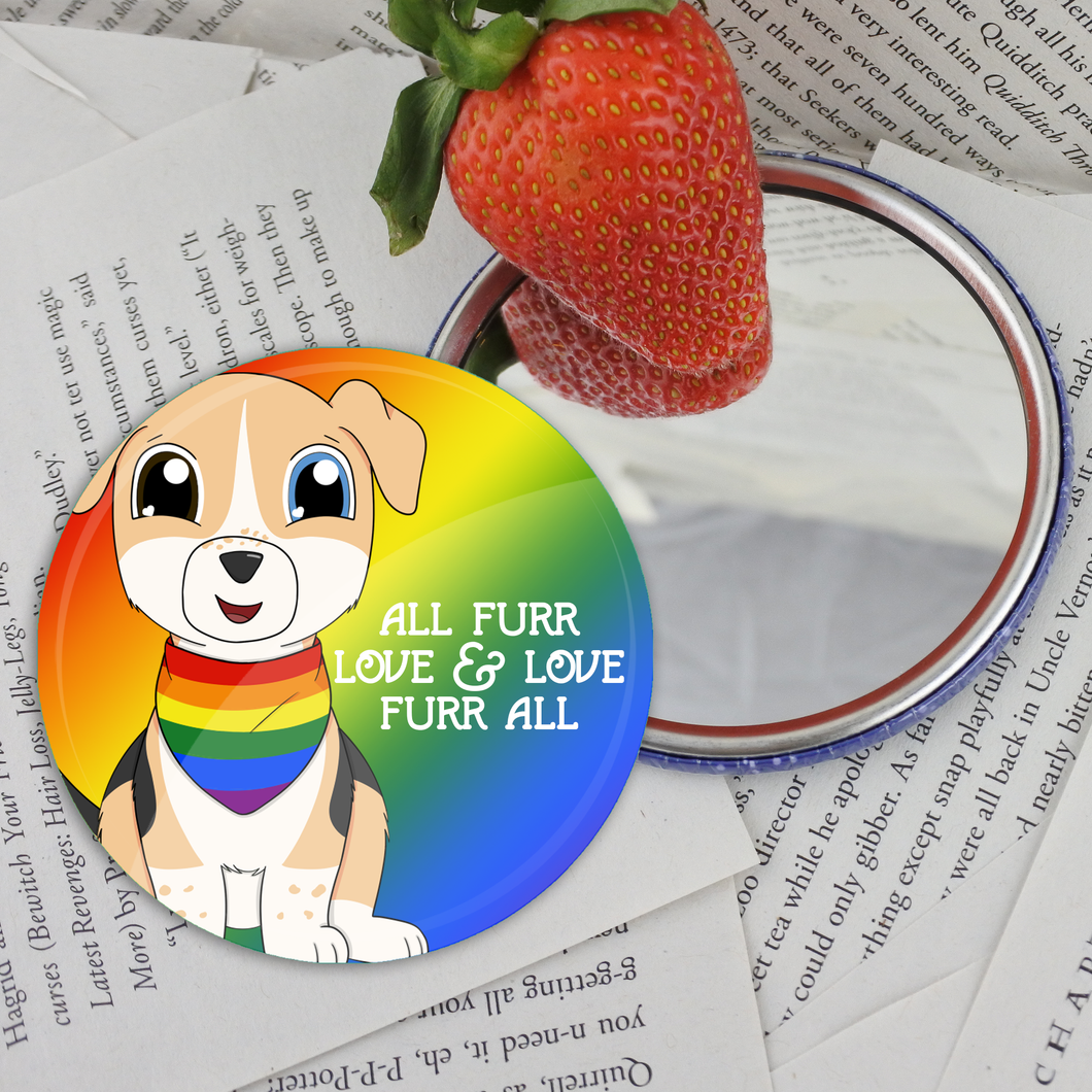 Pride Pets Pocket Mirror