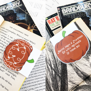 Pumpkin Bookmarks