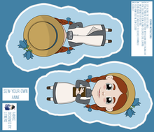 Load image into Gallery viewer, Anne of Green Gables Sew Your Own Plushie