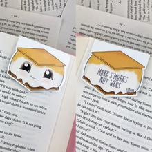Load image into Gallery viewer, S'mores Magnetic Bookmark