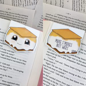 S'mores Magnetic Bookmark