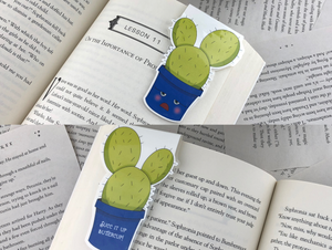Succulent Magnetic Bookmarks