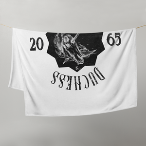 Defiant Duchess Throw Blanket