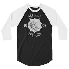 Load image into Gallery viewer, Defiant Duchess 3/4 sleeve raglan shirt