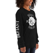 Load image into Gallery viewer, Defiant Duchess Long sleeve t-shirt w/sleeve print