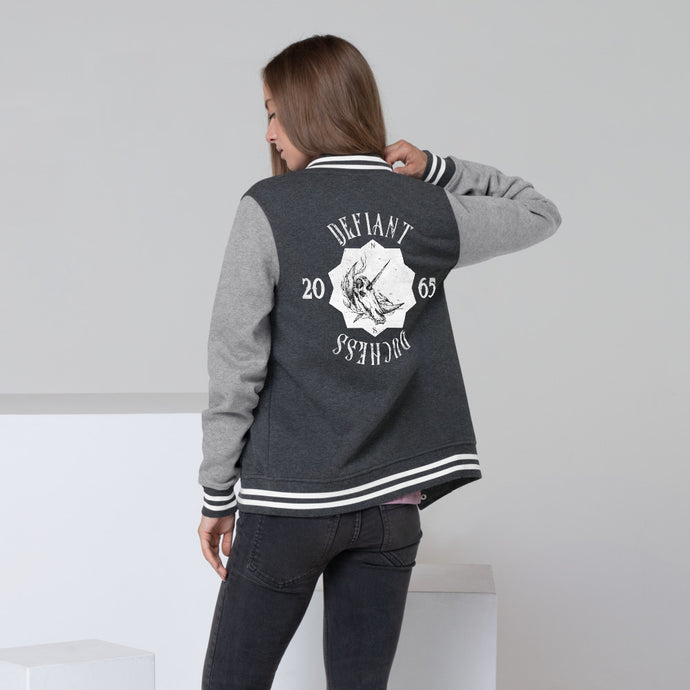 Defiant Duchess Women's Letterman Jacket