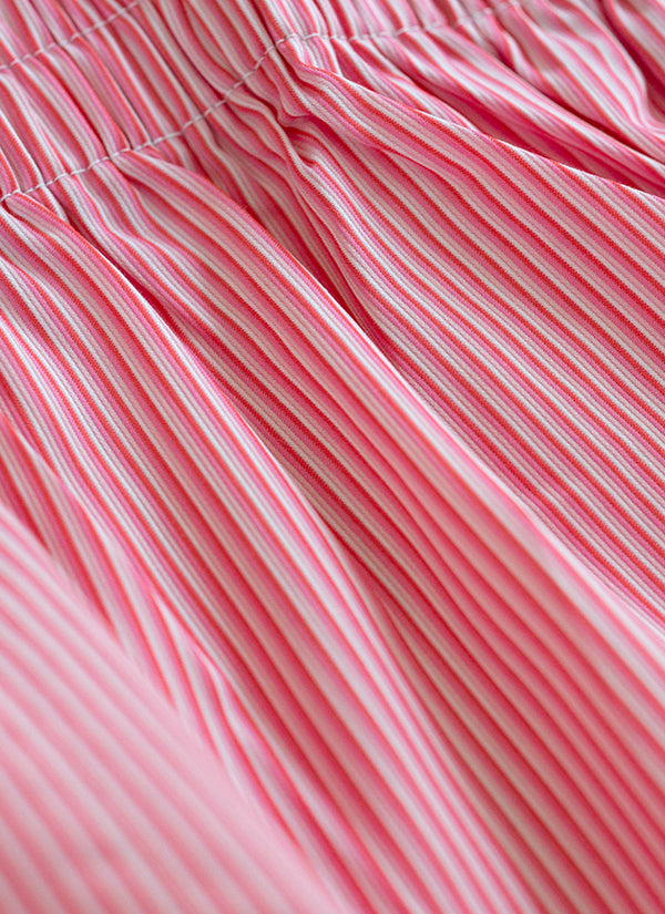 The Perfect Fashion Boxer Short in Pink Ombre Stripe