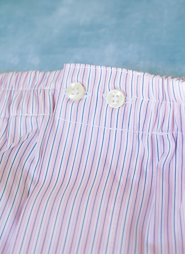 The Perfect Fashion Boxer Short in Pink Stripe
